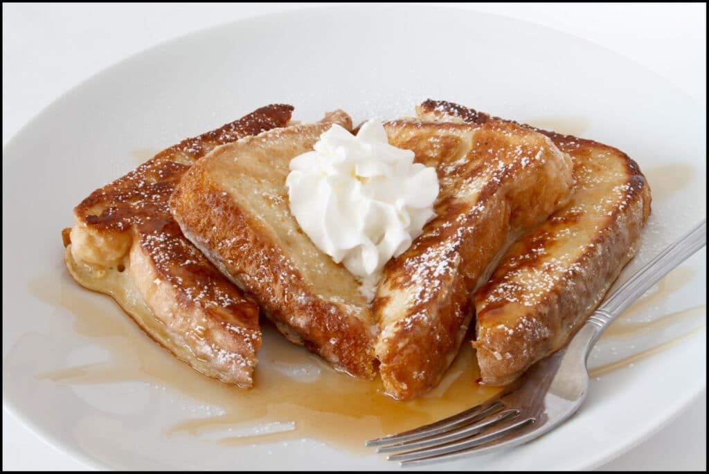 french toast best breakfast in Texas