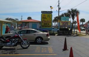 Oasis Restaurant: Parking