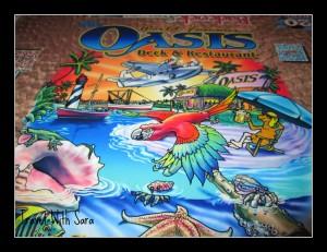 World Famous Oasis Restaurant: Table