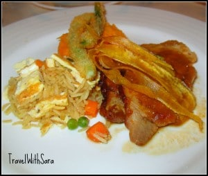 Main Dish On Carnival Sensation