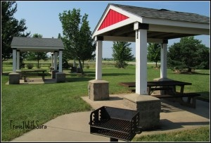 Exit 214 Rest Area Picnic Tables