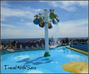Kids Play Area On Carnival Sensation