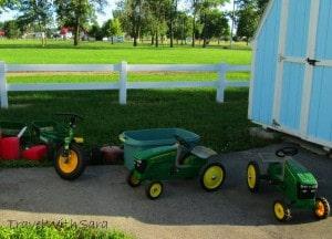 kids tractors fair