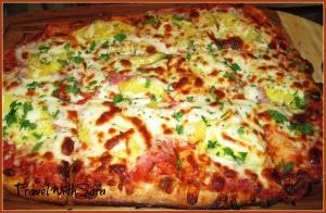Pizza At Brick Oven Bistro