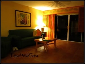 Ron Jon Resort: Cape Caribe- Living Room