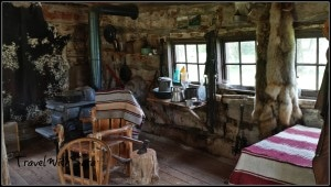 Cabin At Buffalo Bill's Ranch