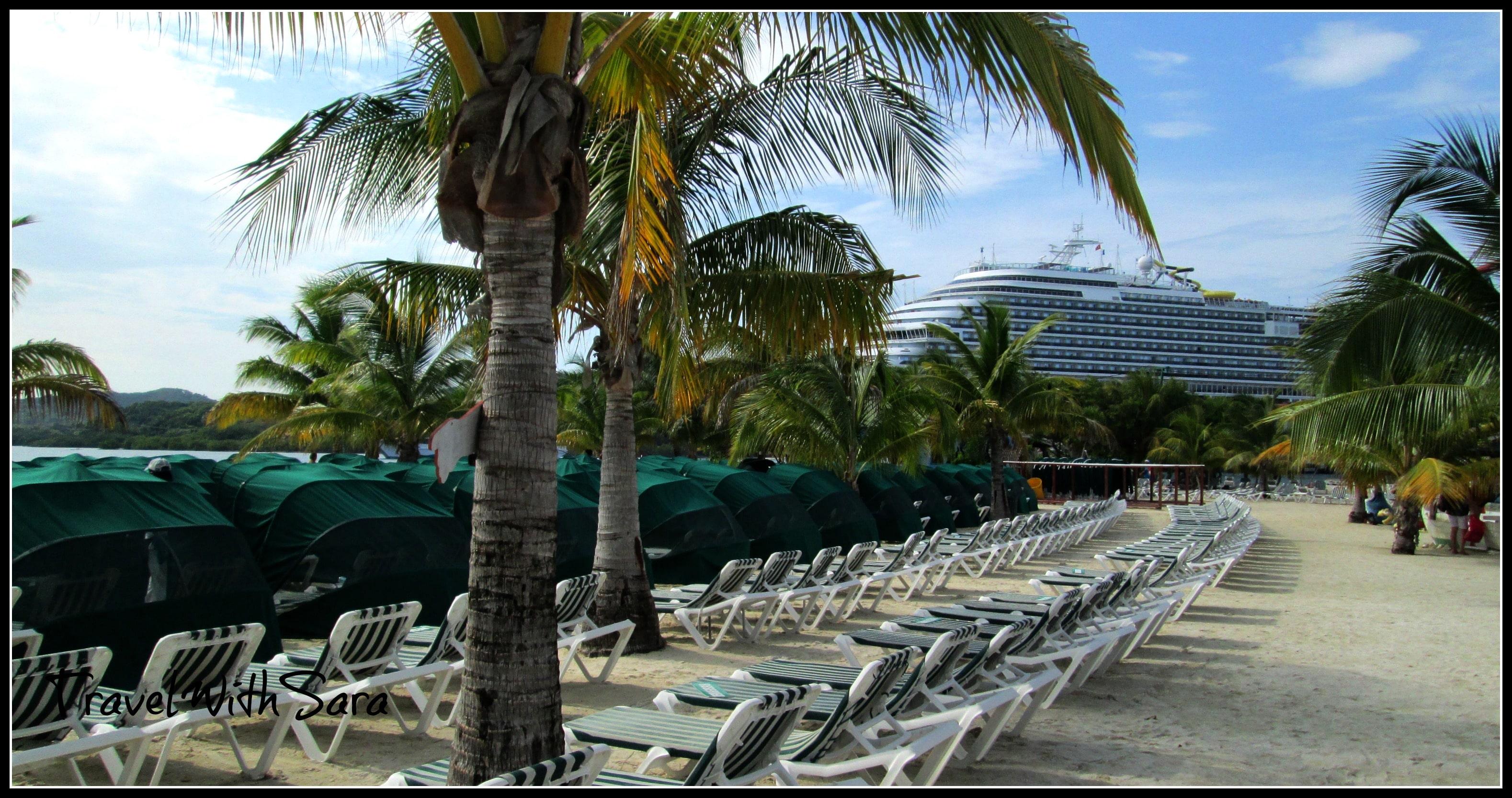 Carnival Dream Port Of Call Mahogany Bay On Isla Roatan