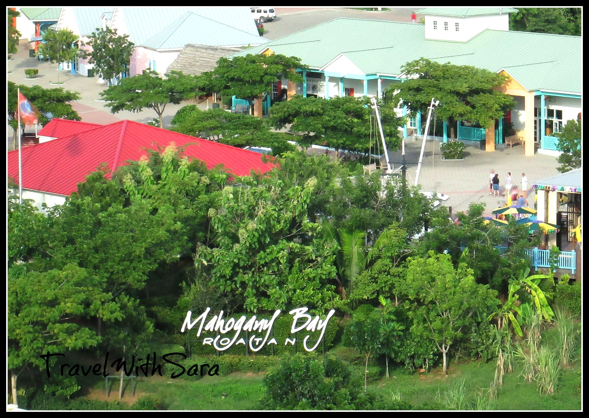 Carnival Dream Port Of Call Mahogany Bay On Isla Roatan