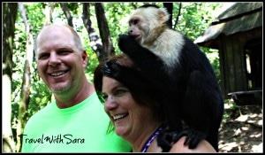 Todd and Sara Monkey