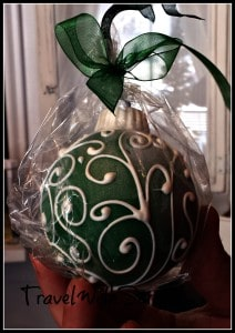 Chocolate Ornament