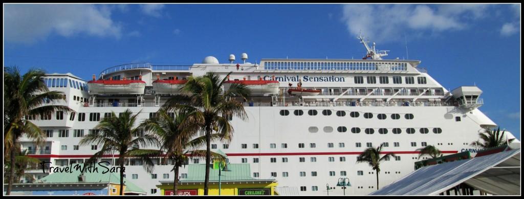 Carnival Sensation Freeport, Bahamas