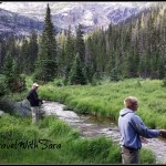 Todd and Garrett Fly Fishing