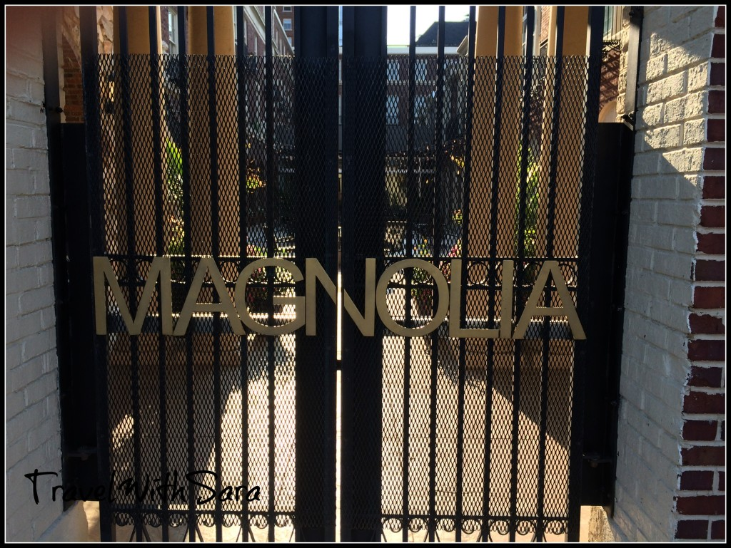 Gate at Magnolia