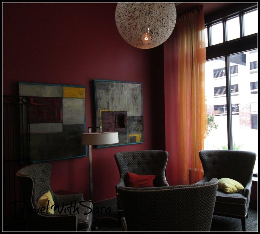 Lounge area at Magnolia