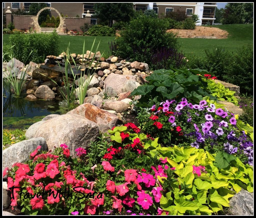 stream in gardens