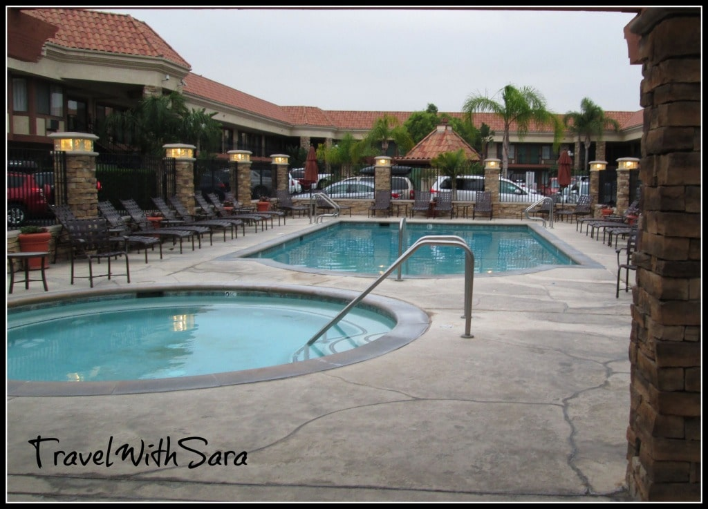 Tropicana Inn And Suites Pool Area