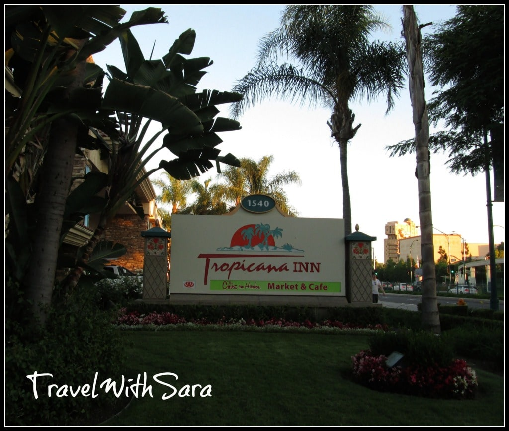 Tropicana Inn Sign