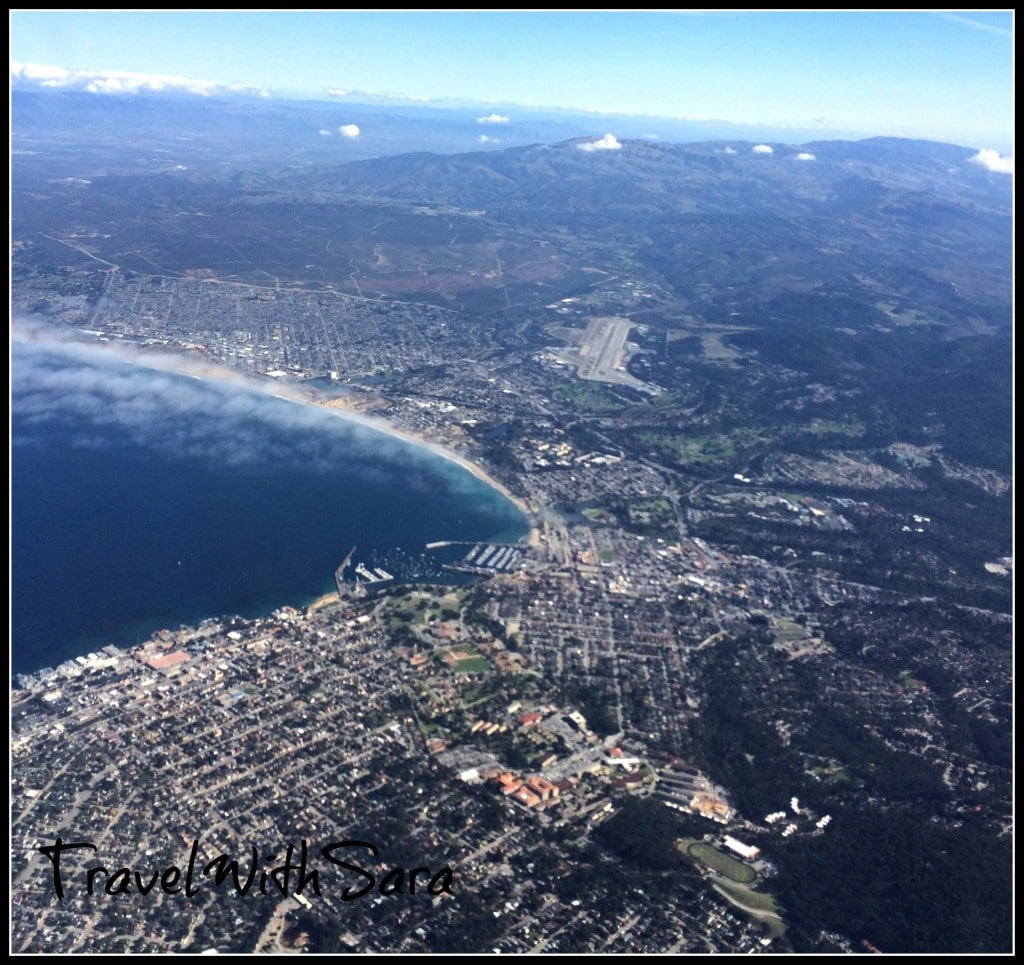 Flying out of Monterey California