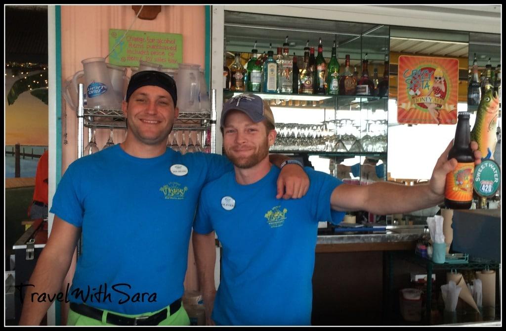 Bartenders at Lulu's