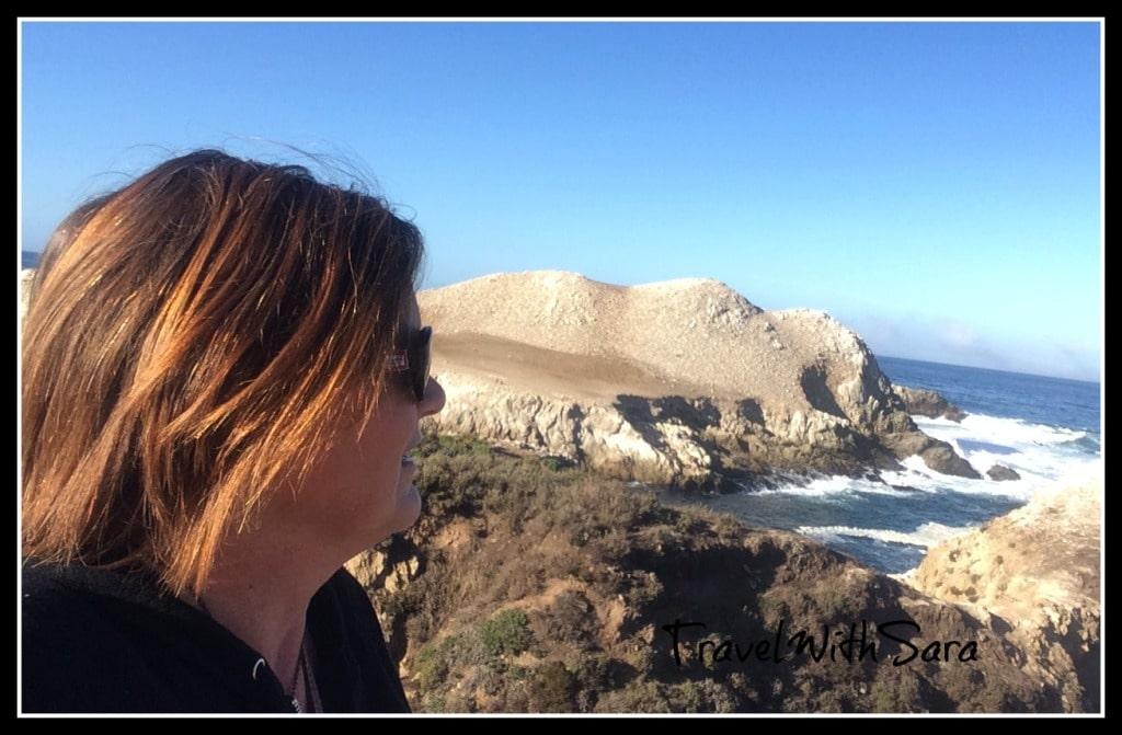 Sara near Bird Island