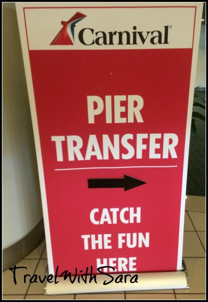 Carnival Transfer Signs