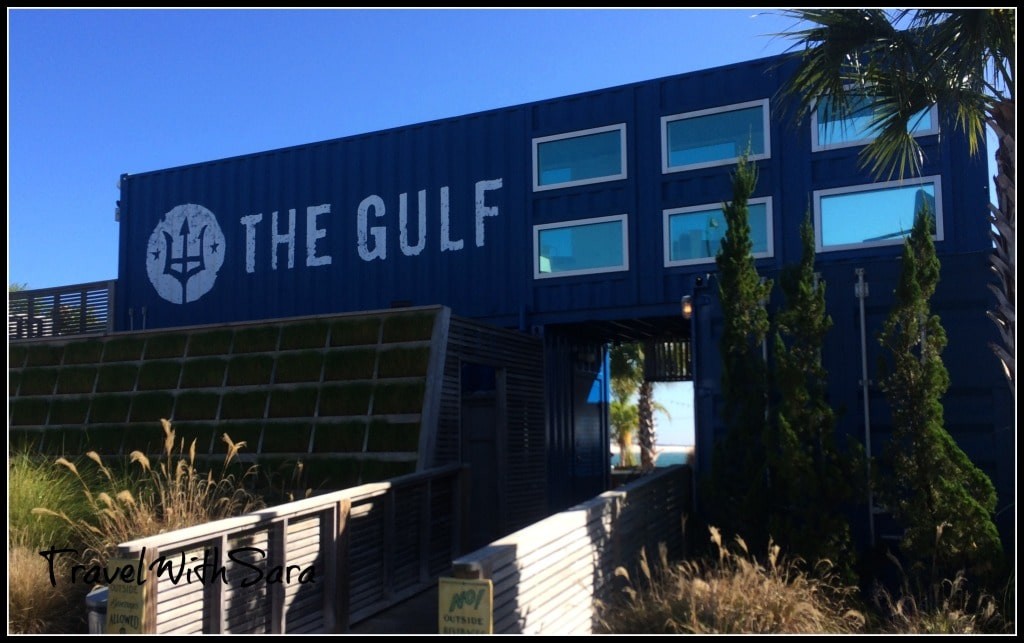 Entrance to The Gulf Restaurant