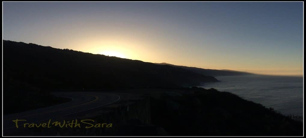 Sunrise Big Sur