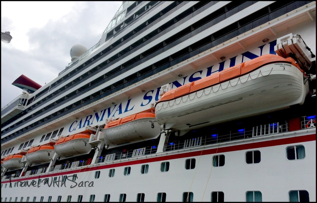 Carnival Sunshine In Port