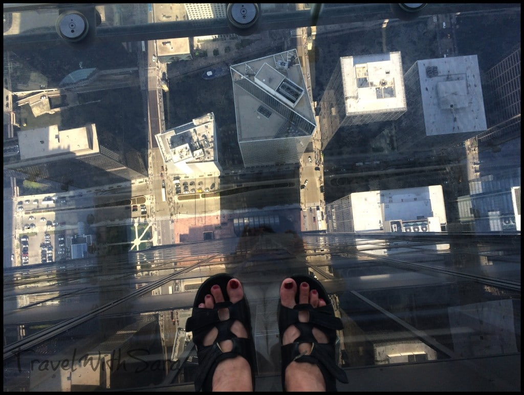 Feet on Skydeck