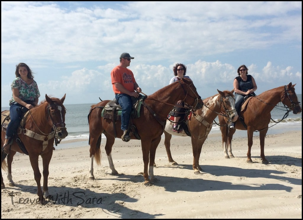 Horse Group on beach