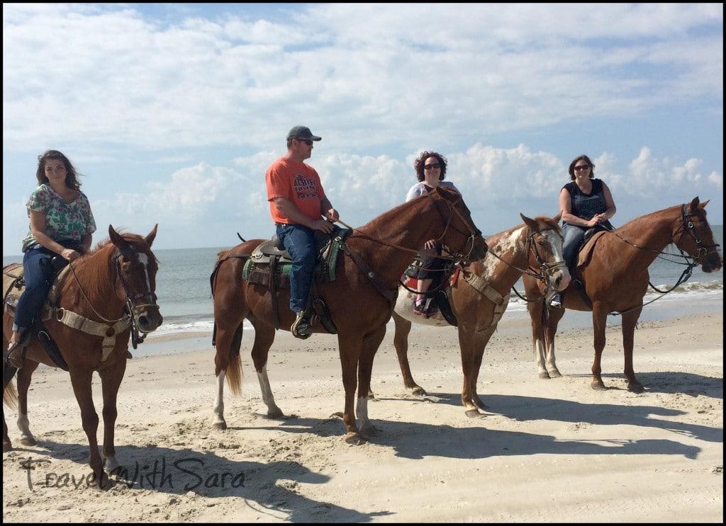 Horse Group on beach