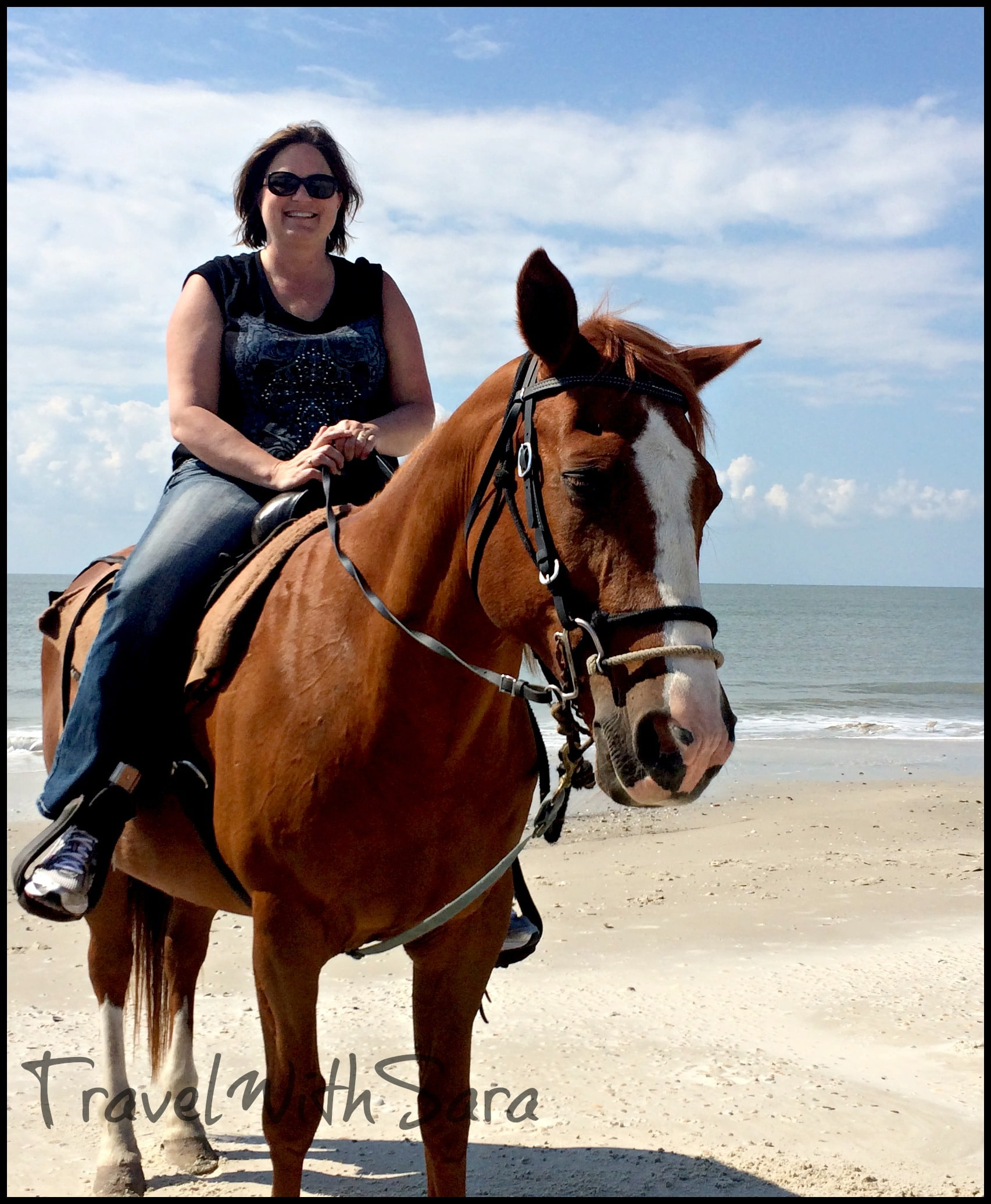 Horseback Riding On The Beach In Gulf County Florida