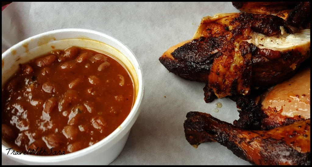 Smokin Yard's BBQ chicken