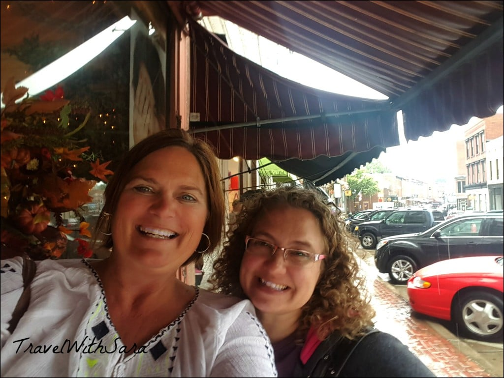 Sara and Donna in Galena