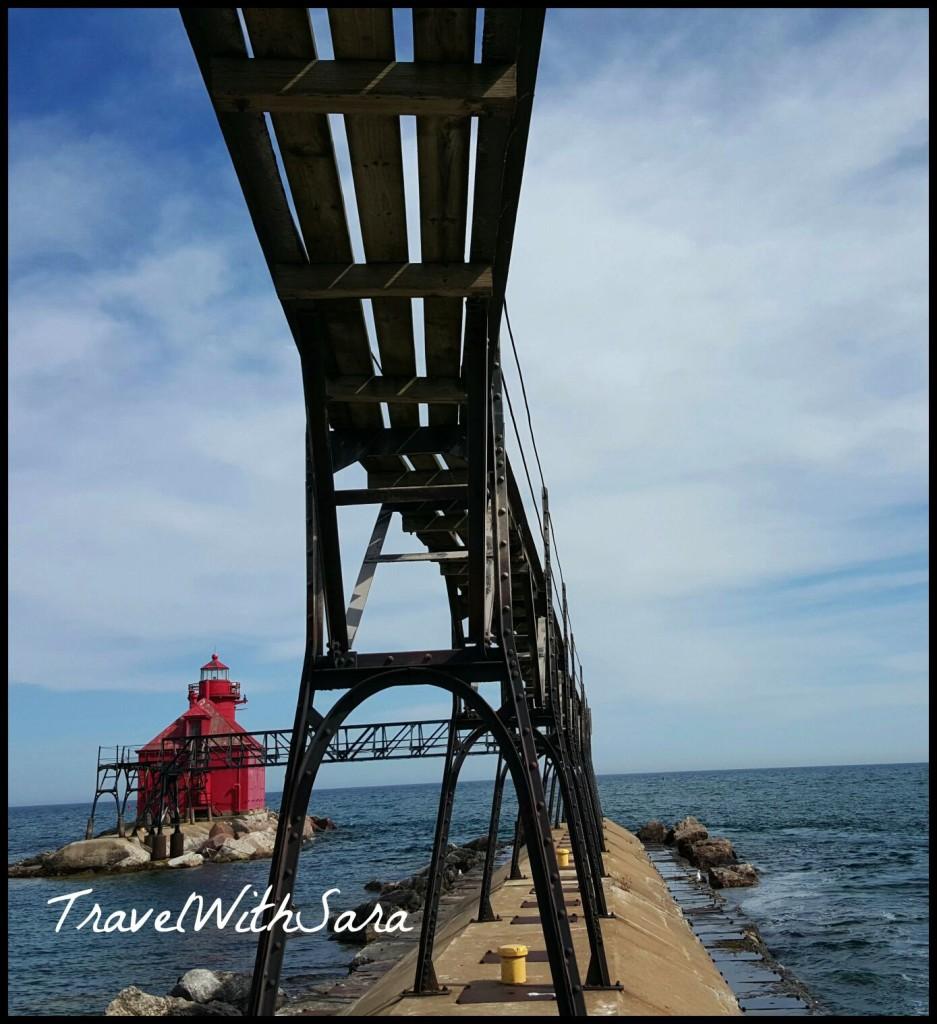 walkway to lighthouse