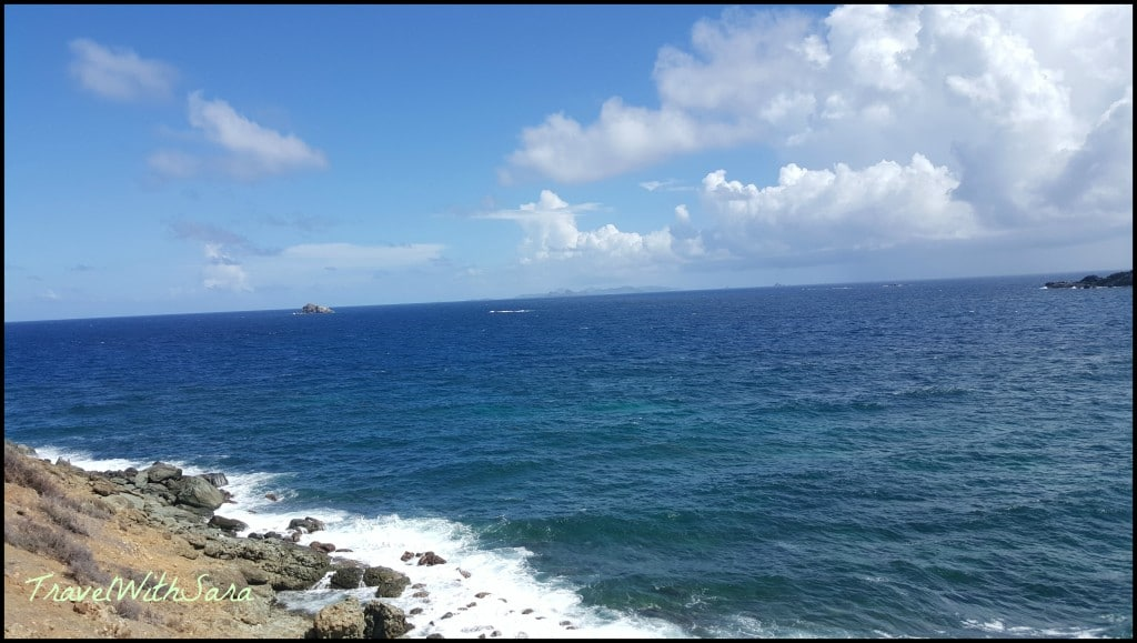view from coastal hike st. maarten
