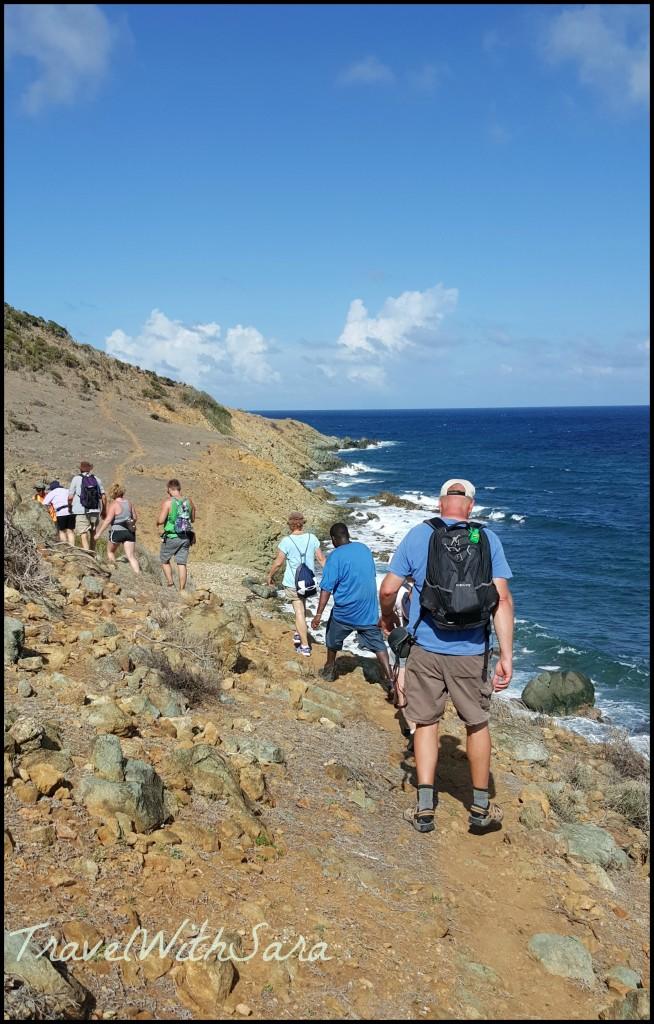 hiking st maarten