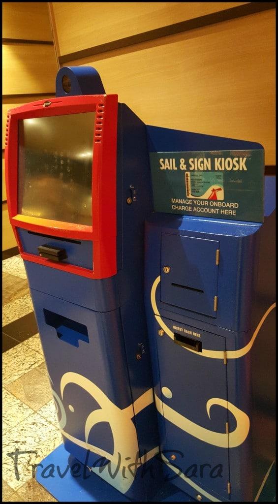 Sail & Sign Kiosk