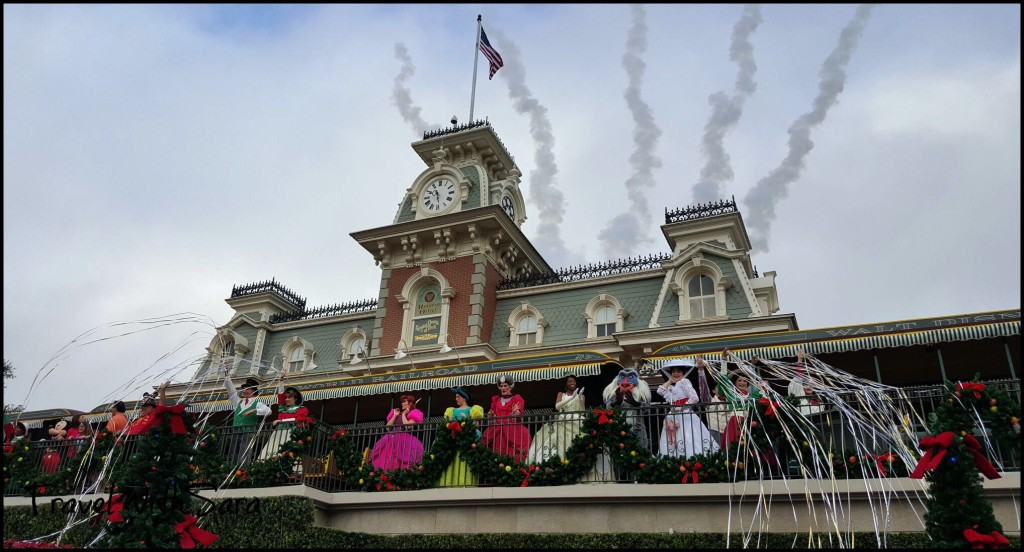 Magic Kingdom opening