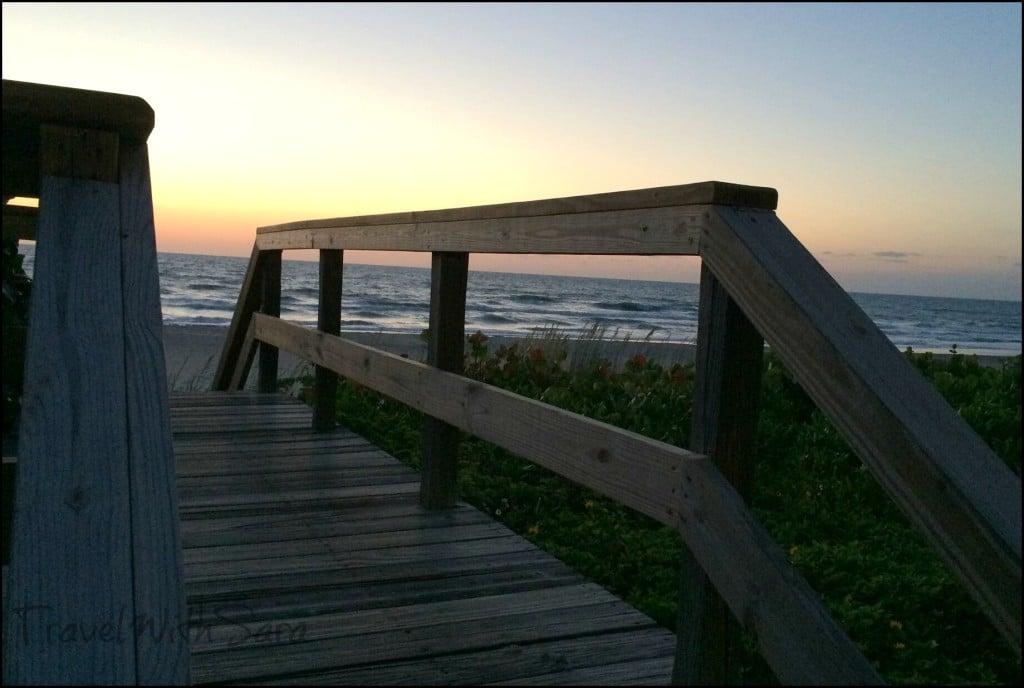 15 steps to beach
