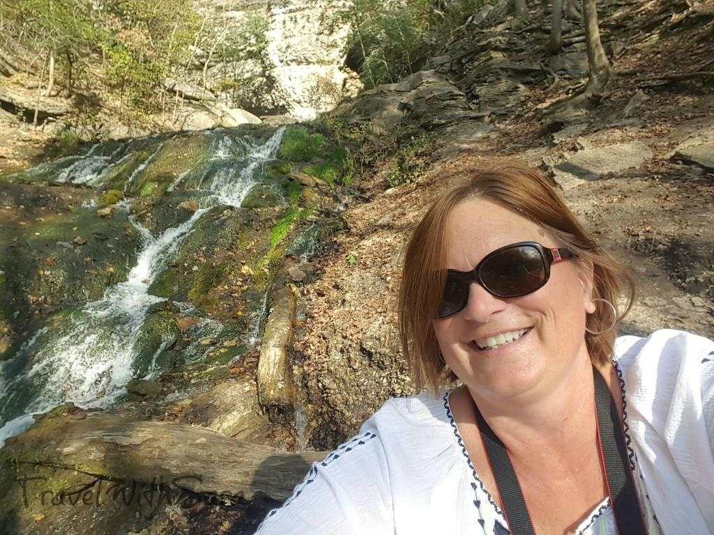 waterfall in Decorah