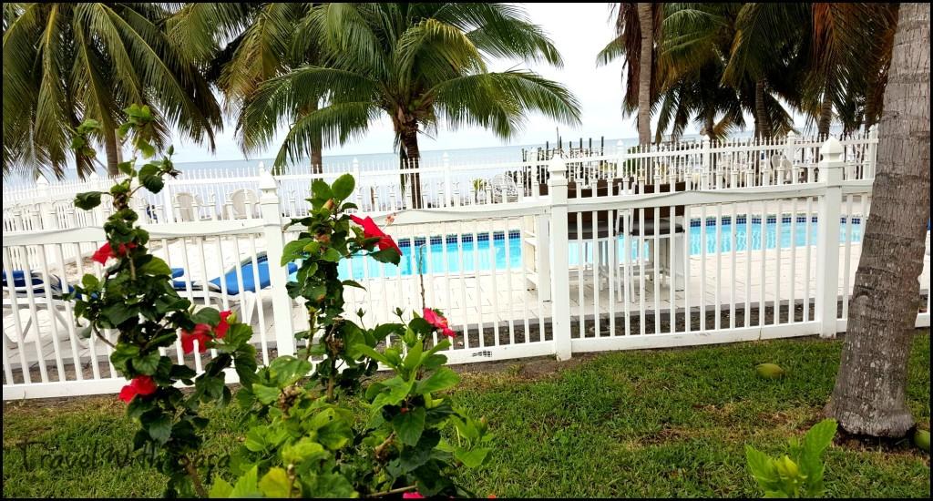 White Sands Inn pool