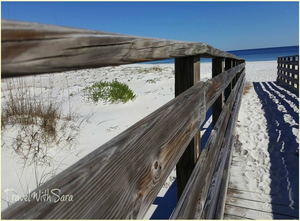 Leave Only Footprints On The Alabama Beaches