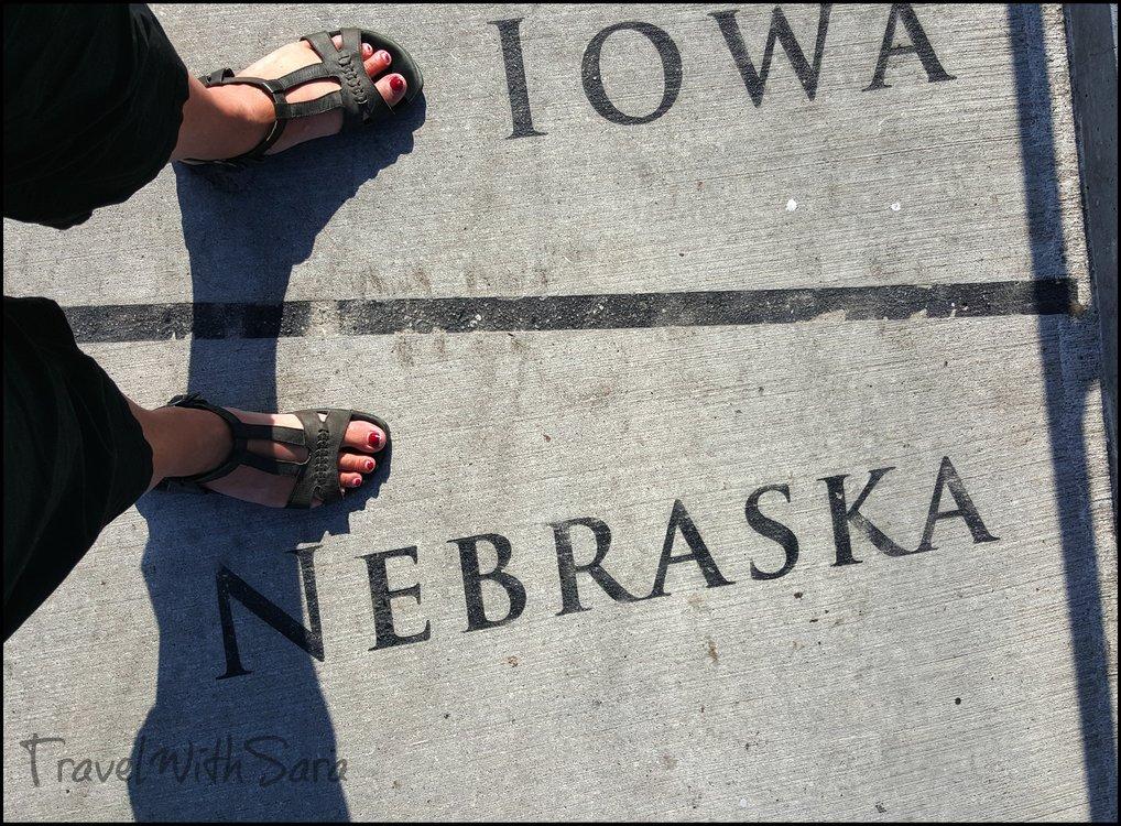 Iowa Nebraska Line