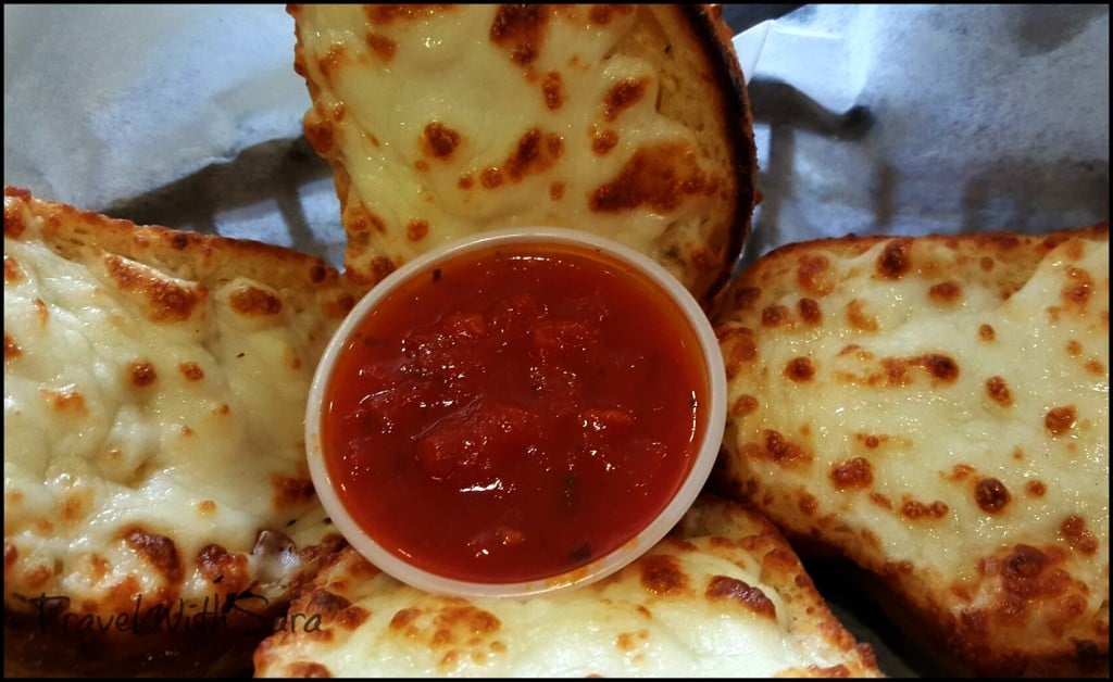 Cheese bread at Mabe's