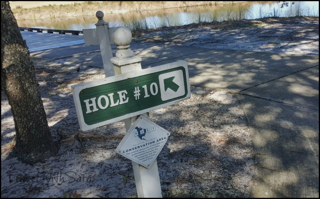 Hole 10 Sign at Kiva Dunes