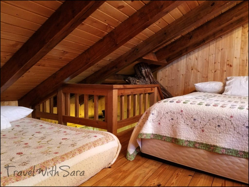Beds in Treehouse