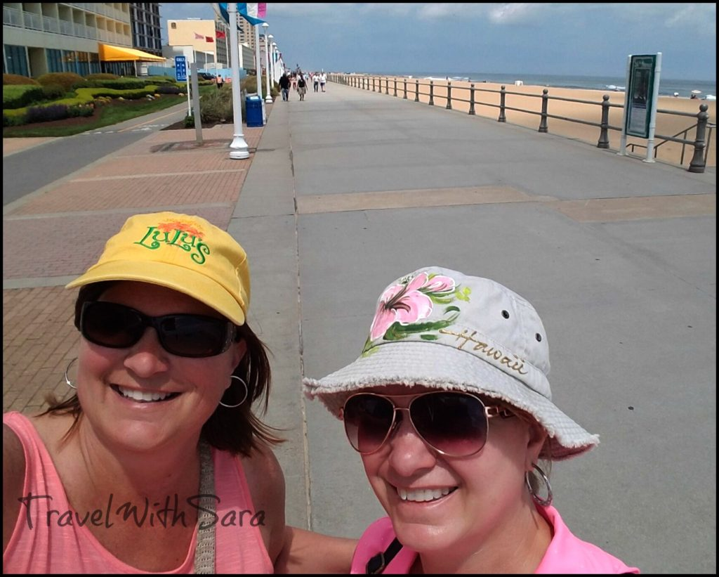 Sisters on Boardwalk