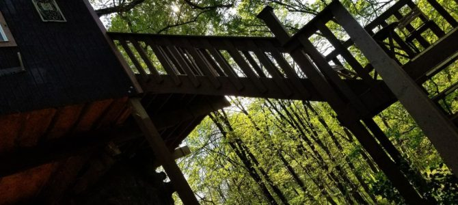 Timber Ridge Outpost And Cabins In Illinois Offers Treehouses For Your Glamping Experience