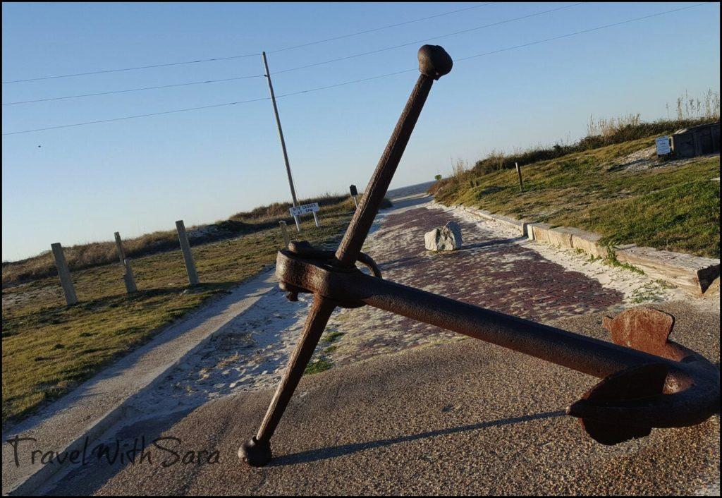 Anchor at Fort Morgan